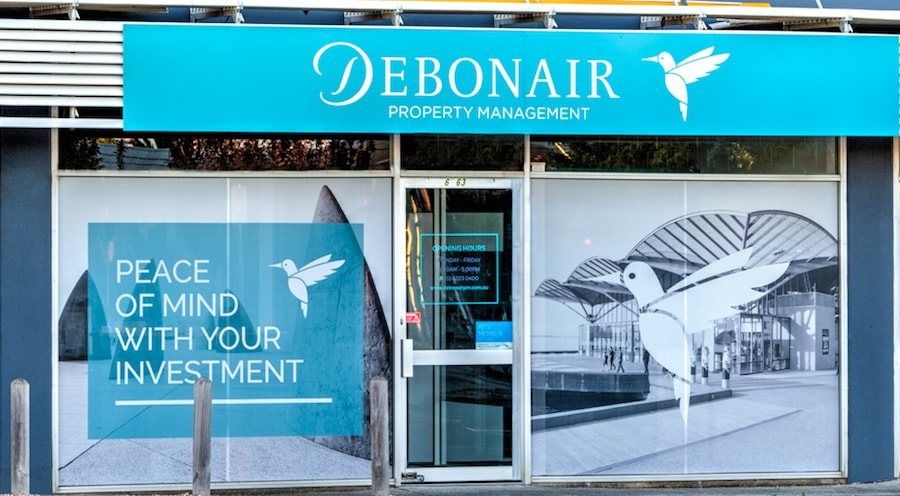 Debonair Property Management Store Front